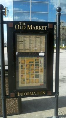 The Old Market, a great place to shop, eat, and be merry!