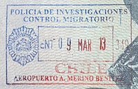 Chile entrada