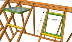 Step by step diy project about lean to greenhouse plans. Building a lean to greenhouse is a great weekend project, especially if you want to grow your own vegetables. Greenhouse Film, Lean To Greenhouse, Greenhouse Plans, Backyard Greenhouse, Greenhouse Wedding, Backyard Sheds, Building A Door, Shed Storage, Weekend Projects
