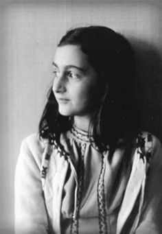 Anne Frank. Jewish victim of the Nazi regime. Author of her own diary, a valid document for historians to study how Nazi politics affected the German population.