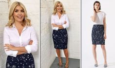Buy Holly Willoughby's This Morning skirt for LESS than 100 at THIS high street shop