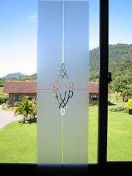 Resultado de imagen para vidrios esmerilados diseños