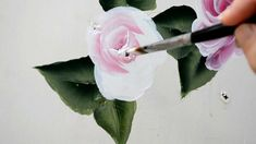 Learn to Paint a Rose, One Stroke at a time