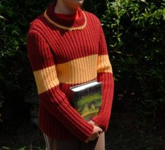 Make this in Ravenclaw colors...quidditch sweater by A Crafty Lawyer, via Flickr