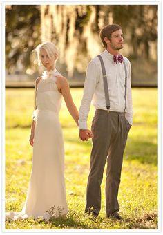 suspenders + bowtie