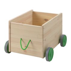 IKEA - FLISAT, Toy storage with castors, , The toy storage with wheels makes it easy for your child to collect and move toys from one room to another.The durable plastic wheels roll softly and smoothly across the floor.