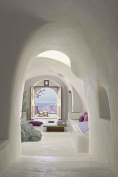 awesome greek island room interiors