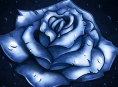 How to Draw a Blue Rose, Step by Step, Flowers, Pop Culture, FREE Online Drawing Tutorial, Added by Dawn, January 19, 2013, 7:28:22 am