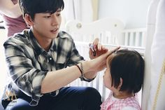 160523 Haejin with baby in Shanghai Park Hye Jin, Korean Drama Quotes, Doctor Stranger, My Love From The Star, Love Park, Lee Seung Gi, Most Handsome Men, Niece And Nephew, Korean Actors