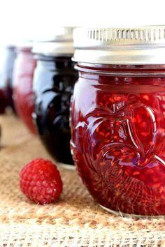 Easy Homemade Jam – Lord Byron's Kitchen – Comida: mesas vegetarianas Jelly Recipes, Jam Recipes, Canning Recipes, Recipies, Blackberry Recipes, Drink Recipes, Bread Recipes, Vegan Recipes, Strawberry Rhubarb Jam