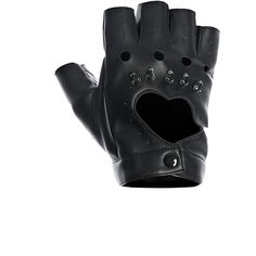 Fracomina Gloves ($48) ❤ liked on Polyvore featuring accessories, gloves, faux leather gloves, vegan gloves, bike gloves and fracomina