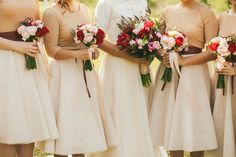 Blush, burnish gold, copper, taupe, cream and dark rose hues. A Romantic and Ethereal Singapore Wedding at The Joyden Hall: Samuel and Brenda