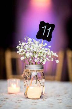 40 Beautiful Wedding Decor, Rustic Wedding Ideas - Part To Remember Wedding Centerpieces, Wedding Table, Diy Wedding, Rustic Wedding, Wedding Reception, Wedding Flowers, Dream Wedding, Wedding Decorations, Wedding Day