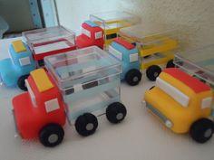 Caminhão - Caixa de Acrilico