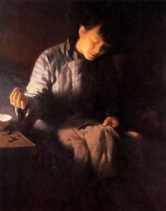 Han-Wu Shen (Han Wu Shen): Making Winter Clothes