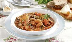 Zemiakový guláš so zeleninou