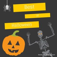 Best of Halloween Holiday Kids Crafts and Kids Activities by Thank You Honey