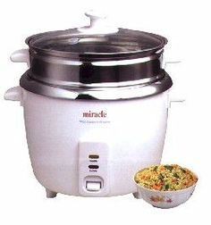 Check out the deal on Miracle Stainless Steel Rice Cooker ME-81 at Ultimate Nourishment - Discount Prices Free Shipping