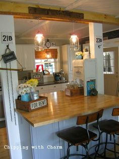 Chipping with Charm: Junky Kitchen Reveal...
