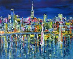 Nighttime awareness. #Duaiv #ArtbyDuaiv #Painting