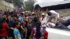 PMC y MC´s de Puebla se solidarizan con damnificados de Sierra Norte