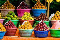 Delicious local fruit in Bali, Indonesia.