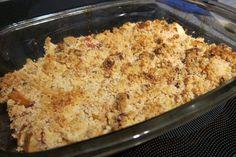 crumble net uit de oven