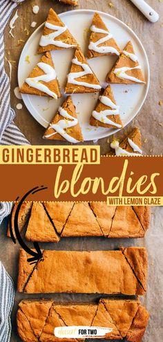 Put this Christmas in July recipe on your must-try list! Cut into Christmas tree shapes, these Gingerbread Blondies with Lemon Glaze are a great dessert idea for your holiday tray. Happy small batch… Delicious Dinner Recipes, Best Dessert Recipes, Holiday Recipes, Yummy Food, Family Recipes, Yummy Recipes, Easy Meals For Two, Quick Easy Meals, Dessert For Two