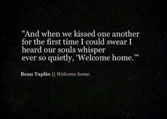 Beau Taplin | Welcome home.