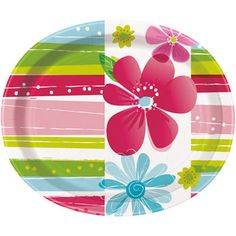 Tanier oválny Spring Flowers End Of Winter, Party Dishes, Washing Dishes, Spring Party, Paper Plates, Dinner Plates, Spring Flowers, Party Supplies