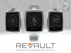 Trend Towards Data Protection - Wearable Private Cloud. http://revault.io #wearables #privacy