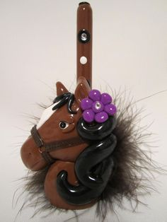 horse pen holder www.starkyart.com