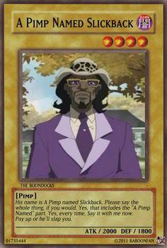 A Pimp Named Slickback - Dark Type Yugioh Trap Cards, Funny Yugioh Cards, Funny Cards, Stupid Funny Memes, Funny Relatable Memes, Funny Video Memes, Dankest Memes, Pokemon Card Memes, Yugioh Decks