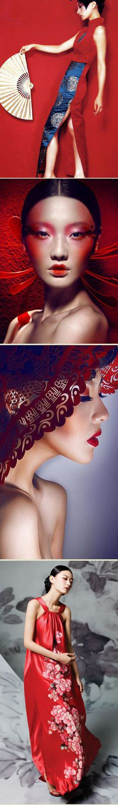 Beautiful Look Fashion, Fashion Art, Fashion Design, Asian Style, Chinese Style, Geisha, Chinese Element, China Girl, China Fashion