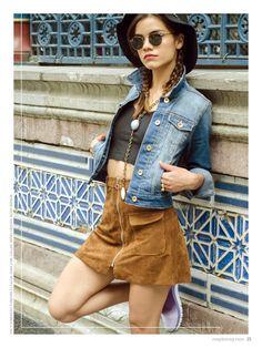no. 001 photo: Nanni Gabrielle. stylist: Ximena Mandujano. model: Ana Arenas. makeup & hair: Luisiana López. kicks: Reebok. top y sombrero: Forever21, falda: Zara, collar: Irving Urquidi, kicks: Reebok. http://maplemag.com/ #maplemag #InherentNature #ForYoungHearts