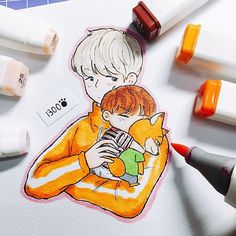 Shhh!! Baby TaeTae is sleeping now  Don't wake him up! ❤️❤️ Thanks guys for…