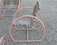 Vintage Brown Jordan. These Need To Be Restrung With Boat Railing Webbing.    Home   Pinterest   Brown Jordan And Patios