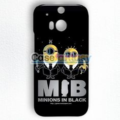 Mib Minions In Black HTC One M8 Case | casefantasy