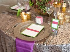 Ring in the New Year with the Official Color for 2014   Radiant Orchid   BBJ Linen - Fine Linen Rental and Retail Store
