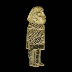 Discovery Of 29 Ancient Gold Men Unearthed In Sweden.They are 1-2 cm high and are imprinted on one side. They date from the 6th century and a few hundred years beyond. Gold men (guldgubbar) are most often found in locations associated with power or religious rites. more...