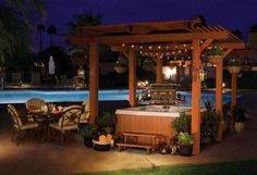 Hot Tub Deck Ideas | Cal Spas - Finalist for Best Hot Tub Spa - 2012 About.com Readers ...