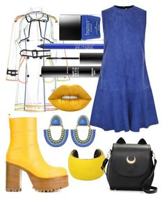 """""""Do I know you ?"""" by shivaevangelica on Polyvore featuring Wanda Nylon, Urban Decay, MAKE UP FOR EVER, Marni, Ted Baker, Lime Crime and Isabel Marant"""