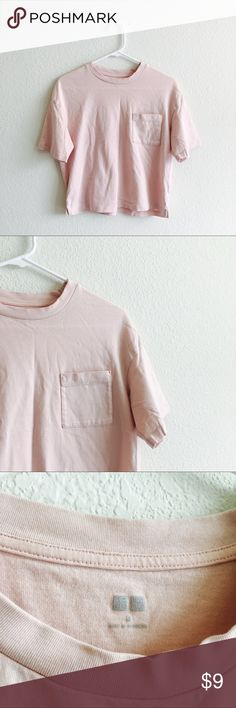 Uniqlo Pink T-shirt In really good condition Uniqlo Tops Tees - Short Sleeve