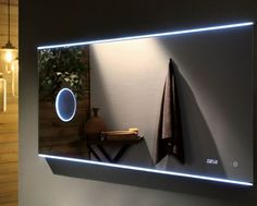 Led Bathroom Mirror With Magnifier 1200 X 700x30mm