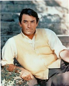 Gregory Peck memorabilia and collectibles. Shop for signed photos, autographs and other autographed items related to Gregory Peck. Hollywood Actor, Golden Age Of Hollywood, Vintage Hollywood, Hollywood Glamour, Hollywood Stars, Classic Hollywood, Hollywood Images, Gregory Peck, Steve Mcqueen