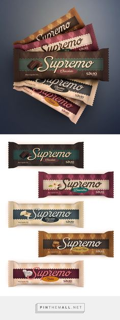 Supremo ice cream package design by Bruno Gazzoni. Pin curated by #SFields99 #packaging #design