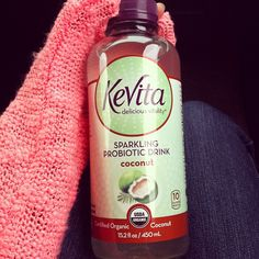 Trying to get naturally balanced! #kevita #probiotic #coconut #health #natural