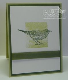 Stampin' Up! Nature Walk by Debbie Henderson, Debbie's Designs.