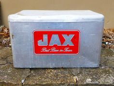 Vintage Jax Beer Ice Chest Beer Metal Cooler