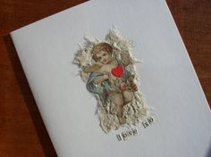 LOVE Card Valentines Day Wedding Card by BigGirlSmallWorld on Etsy